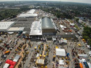 Luftaufnahme der Nordbau Messe